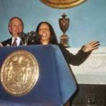 Malla and Mayor Bloomberg